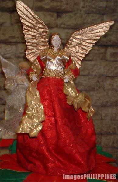 """""""Christmas Angel"""",  Place Taken: Metro Manila take on  Date Taken: 2003"""