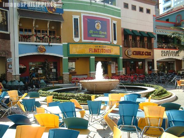 """""""Eastwood City Walk"""",  Place Taken: Metro Manila take on  Date Taken: 2003"""