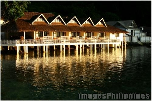 """Water Cottages"", 