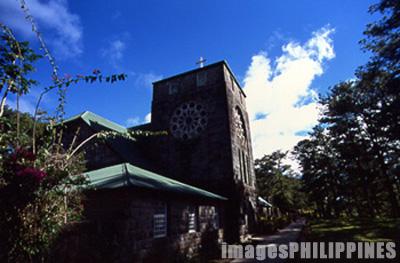 St. Mary's Episcopal Church side elevation,  Place Taken: Mountain Province take on  Date Taken: 2002