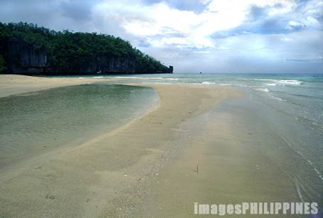 """A beach in Puerto Princesa""