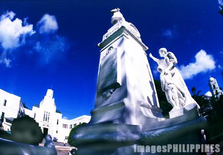 """""""Municipal Hall Area/Town Center"""",  Place Taken: Sariaya, Quezon take on  Date Taken: 2000"""
