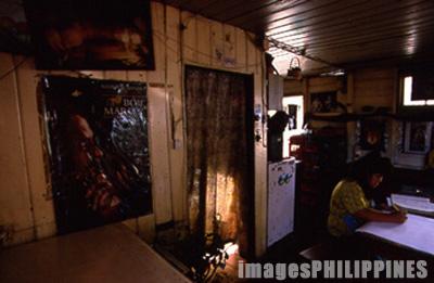 Shamrock Caf� interior,  Place Taken: Mountain Province take on  Date Taken: 2002