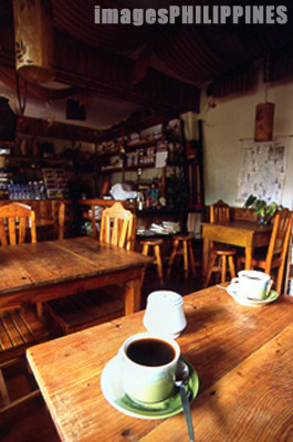 Mountain coffee at the Yoghurt House.