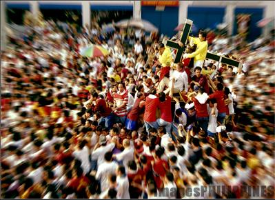 """Quiapo Fiesta/Procession"",  Place Taken: Metro Manila take on  Date Taken: 1999"