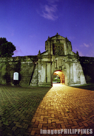 """Fort Santiago at Sundown""
