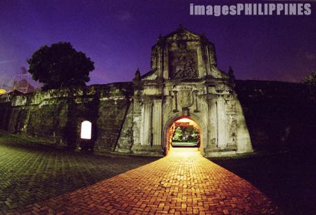 """""""Fort Santiago at Night"""",  Place Taken: Metro Manila take on  Date Taken: 2002"""