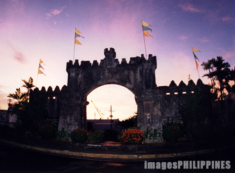 """Spanish Gate at the Subic Freeport""