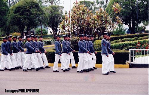 """PMA Cadets Marching"",  Place Taken: Baguio City take on  Date Taken: 2003"