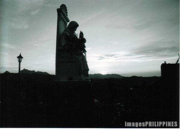 """""""Christ the King, Caleruega Church"""",  Place Taken: Batangas take on  Date Taken: 2002"""