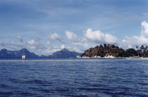 """Sand Bar in El Nido""