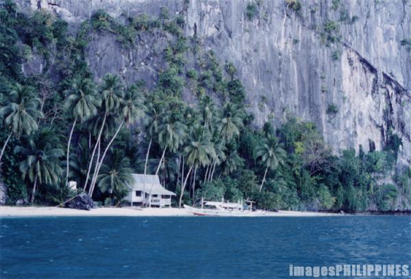 """El Nido House by the Beach"",  Place Taken: Palawan take on  Date Taken: 2000"