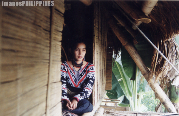 """Young T'boli Woman""