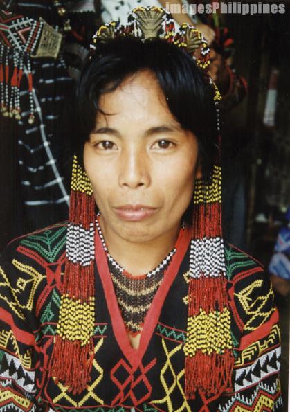 """""""T'boli Woman"""",  Place Taken: South Cotabato take on  Date Taken: 2002"""