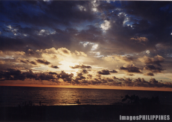 """Sunset in Santa Cruz""