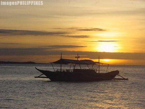"""""""Sunset in Malapascua Island"""",  Place Taken: Cebu take on  Date Taken: 2002"""