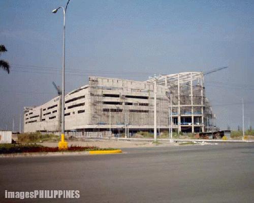 """""""SM Mall of Asia under construction"""" ,  Place Taken: Metro Manila take on  Date Taken: 2004"""