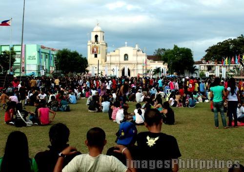 Kalibo Church Plaza,  Place Taken: Aklan take on  Date Taken: 2010