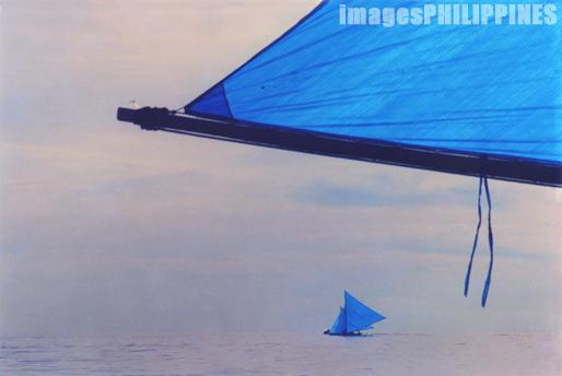 """""""Boracay Sail Boats"""",  Place Taken: Aklan take on  Date Taken: 1994"""