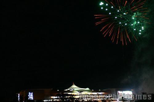 """""""SM City Baguio Fireworks"""",  Place Taken: Benguet take on  Date Taken: 2005"""