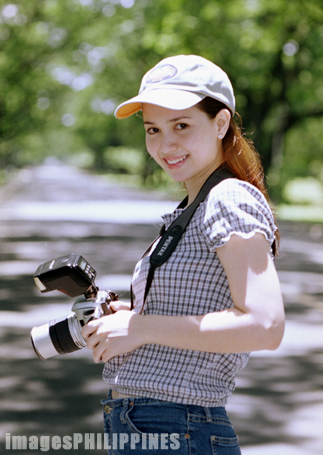 """Girl with Camera""