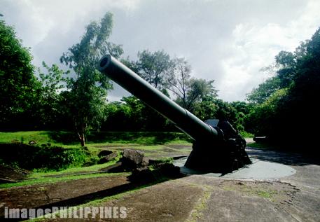 """""""Gun Placement, Corregidor Island"""",  Place Taken: Bataan take on  Date Taken: 2002"""
