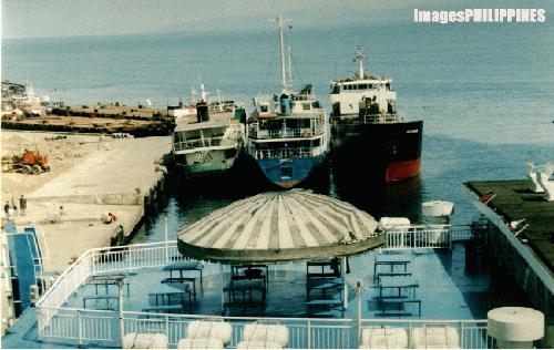 """""""Overlooking Cagayan de Oro wharf"""",  Place Taken: Cagayan de Oro take on  Date Taken: 2004"""