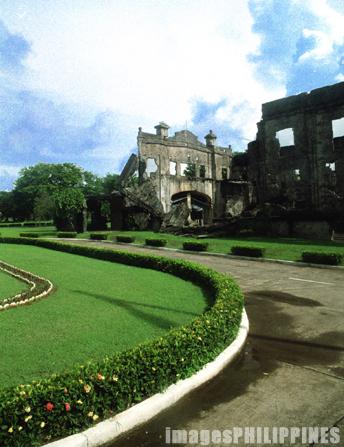 """""""Ruins at Corregidor Island"""",  Place Taken: Bataan take on  Date Taken: 2002"""