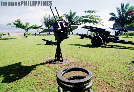 """Small Guns in Corregidor Island""