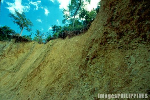 """""""Erosion of the Mountain side"""",  Place Taken: Coron, Palawan take on  Date Taken: 1996"""
