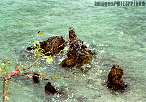 """""""Cullon Rocks"""",  Place Taken: Palawan take on  Date Taken: 1994"""