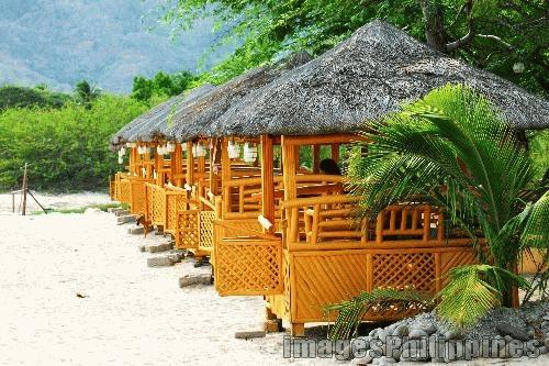 """""""Bahay Kubo or Little Nipa Hut"""",  Place Taken: Batangas take on  Date Taken: 2003"""