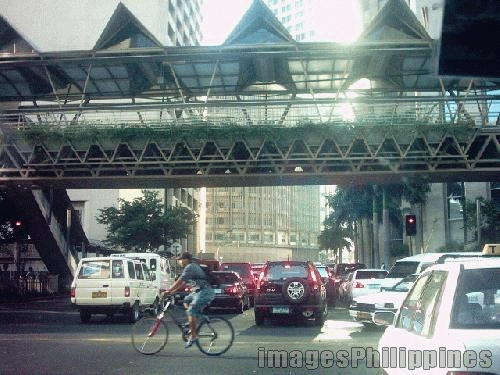 """busy monday morning - makati"", 