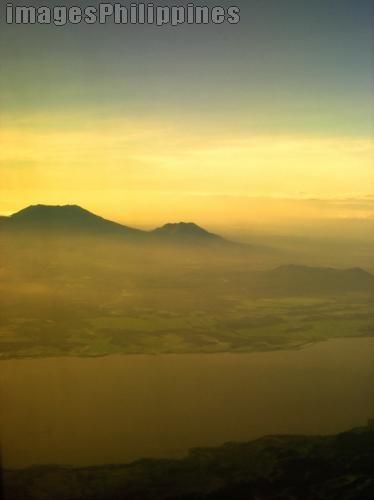 """Sunrise Over Luzon"",  Place Taken: Quezon take on  Date Taken: 2006"