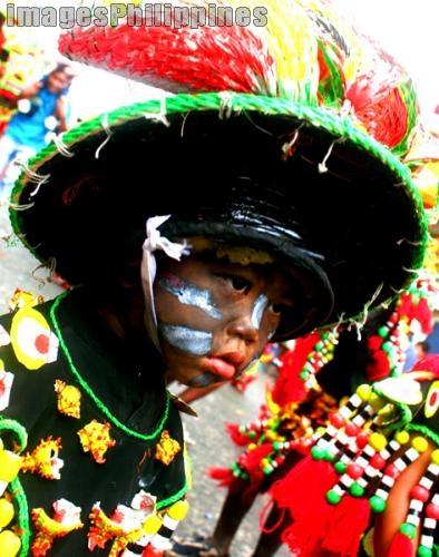 Ati Atihan kid,  Place Taken: Aklan take on  Date Taken: 2010