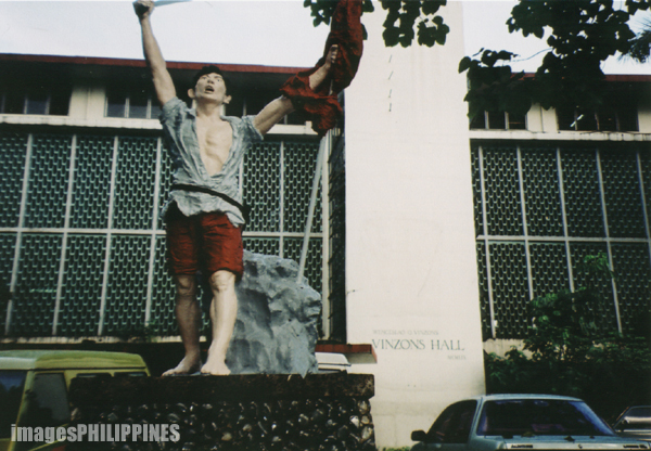 """""""Cry of Balintawak in Vinzon's Hall of UP Diliman"""",  Place Taken: Quezon City take on  Date Taken: 2003"""