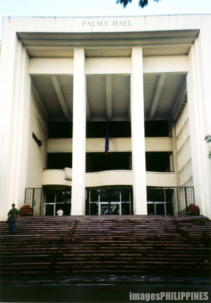 """""""Palma Hall in UP Diliman"""",  Place Taken: Quezon City take on  Date Taken: 2002"""