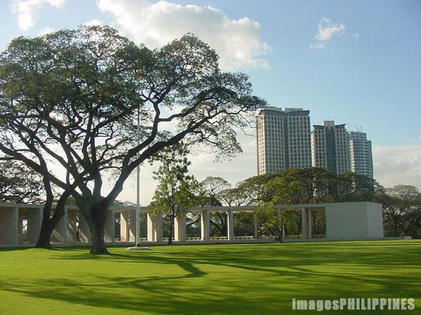 """Manila American Cemetery and Memorial"",  Place Taken: Fort Bonifacio, Makati take on  Date Taken: 2003"