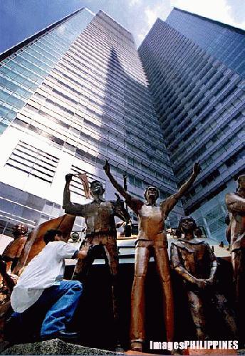 """""""RCBC Building"""",  Place Taken: Metro Manila take on  Date Taken: 2003"""