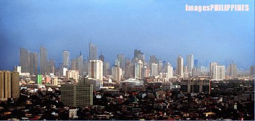 """""""Makati by Air"""",  Place Taken: Metro Manila take on  Date Taken: 2003"""