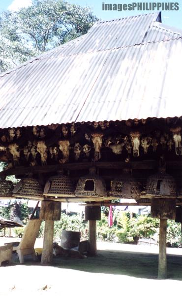 """Traditional Ifugao Hut in Barangay Gohang"",  Place Taken: Banaue, Mountain Province take on  Date Taken: 2001"