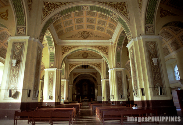 """Interior of Naga Cathedral"", 