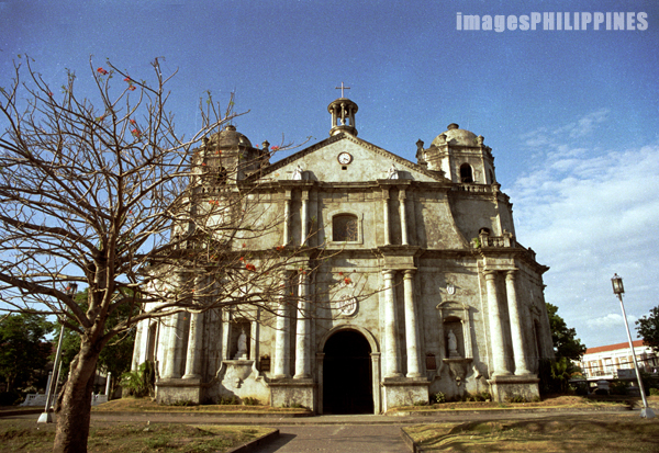 """Exterior of Naga Cathedral"", 