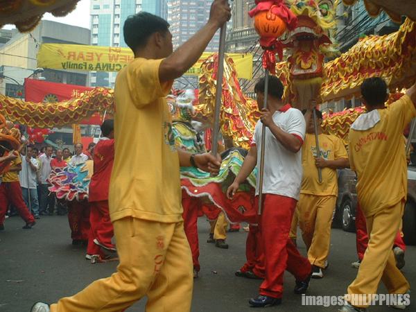 """Dragon and Lion Dance"",  Place Taken: Binondo, Manila take on  Date Taken: 2003"