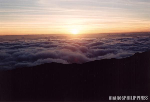 """Sunrise in Mt. Pulag"",  Place Taken: Benguet, Mountain Province take on  Date Taken: 1999"