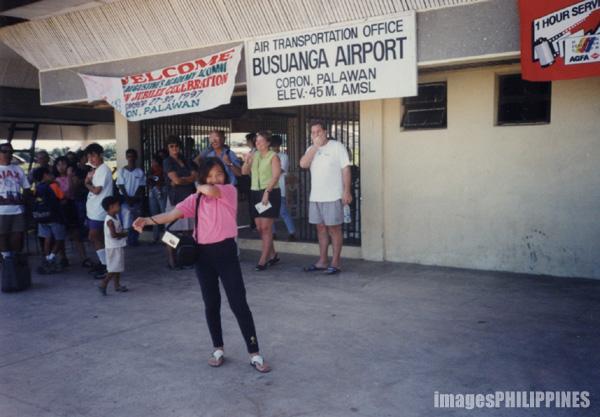 """Waiting for the Jeepney to Club Paradise"",  Place Taken: Coron, Palawan take on  Date Taken: 1997"