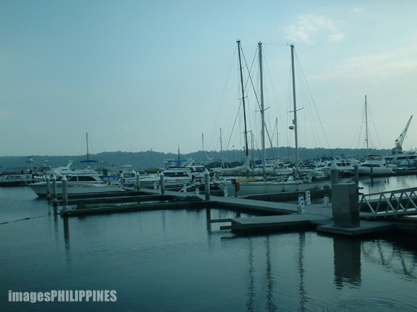 """Boats at the Subic Bay Yacht Club"", 
