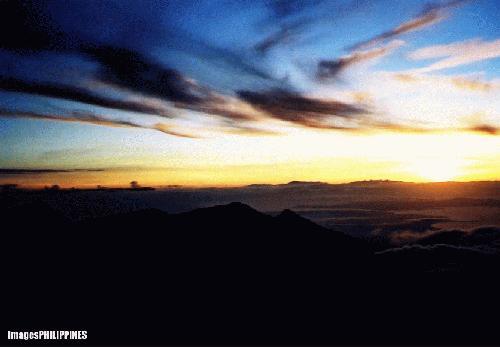 """""""Awakening (Overlooking Mt. Talomo),  Place Taken: Davao take on  Date Taken: 2002"""