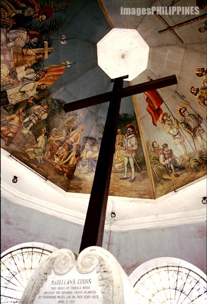 """""""Magellan's Cross"""",  Place Taken: Cebu City take on  Date Taken: 2002"""