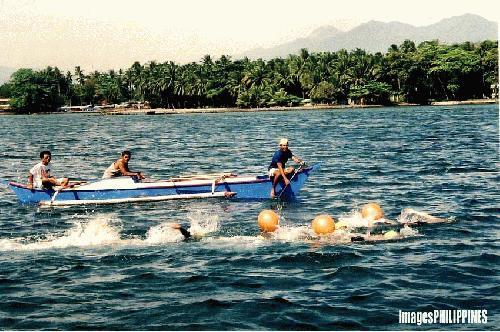 """Fun Swim, Samal, Davao City"",  Place Taken: Paradise Island, Samal, Davao City take on  Date Taken: March 13, 2004"